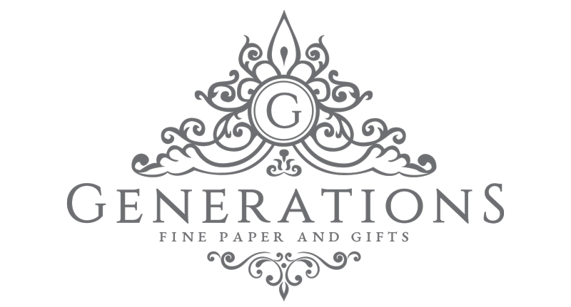 Logo for Generations, Fine Paper and Gifts